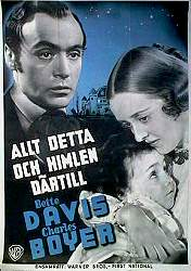 All This and Heaven Too 1940 poster Charles Boyer