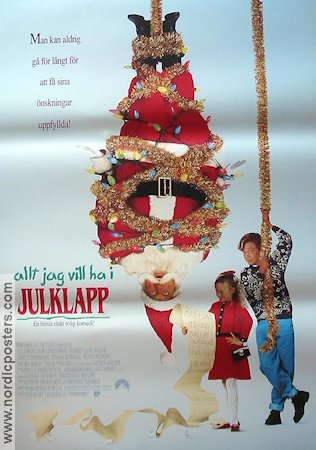 All I Want For Christmas 1991 poster Ethan Randall