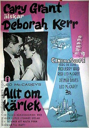 An Affair to be Remembered 1957 poster Cary Grant