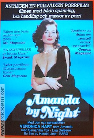Amanda by Night 1981 poster Veronica Hart