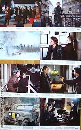 The Amateur 1982 lobby card set John Savage