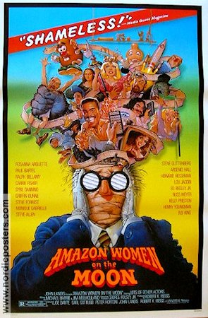 Amazon Women on the Moon 1987 poster Russ Meyer John Landis