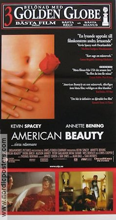 American Beauty 1999 poster Kevin Spacey Sam Mendes