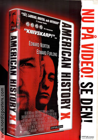 American History X VHS 1998 poster Edward Norton