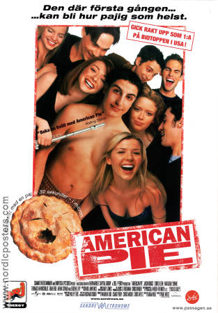 American Pie 1999 poster Jason Biggs Paul Weitz