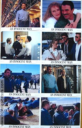 An Innocent Man 1989 lobby card set Tom Selleck