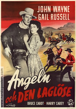 Angel and the Badman 1947 poster John Wayne