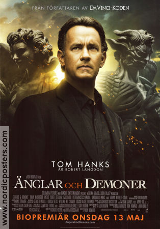 Angels and Deamons 2009 poster Tom Hanks