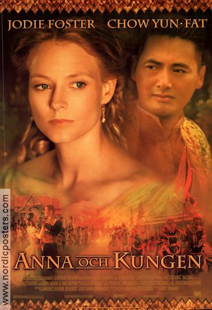 Anna and the King 1999 poster Jodie Foster