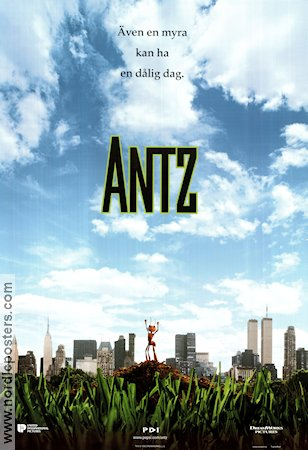 Antz 1998 Movie poster