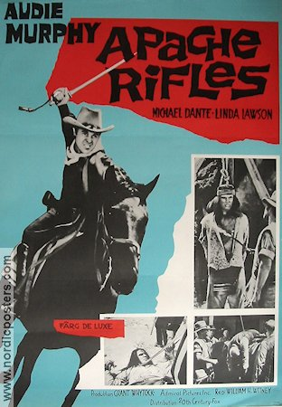 Apache Rifles 1965 poster Audie Murphy