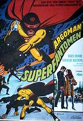 Argoman the Fantastic Superman 1975 poster Roger Browne