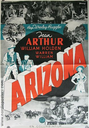 Arizona 1941 Movie poster Jean Arthur