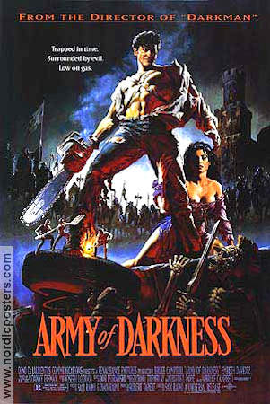 Army of Darkness Evil Dead 3 1992 poster Bruce Campbell Sam Raimi