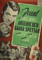 Arsenic and Old Lace 1949 poster Cary Grant Frank Capra