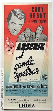 Arsenic and Old Lace 1949 Frank Capra Cary Grant Priscilla Lane Peter Lorre