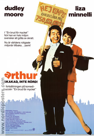 Arthur 1981 Movie poster Dudley Moore