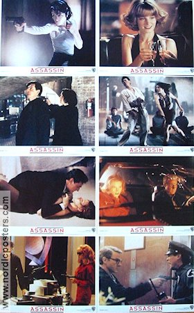 The Assassin 1993 lobby card set Bridget Fonda