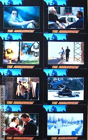 The Assignment 1997 lobby card set Aidan Quinn