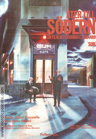 Sur 1987 Movie poster Fernando Solanas