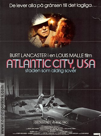 atlantic city usa poster 1981 burt lancaster director