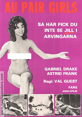 Au Pair Girls 1978 Movie poster Gabrielle Drake