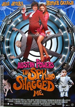 Austin Powers The Spy Who Shagged Me 1999 poster Mike Myers
