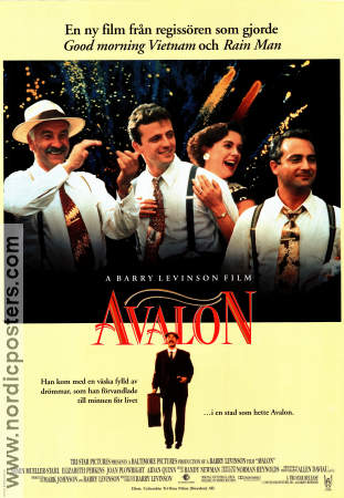 Avalon 1990 Movie poster Armin Mueller-Stahl Barry Levinson