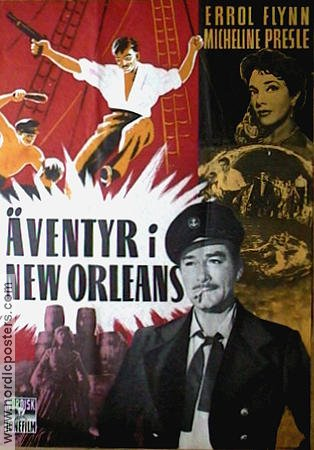 The Adventures of Captain Fabian 1951 poster Errol Flynn