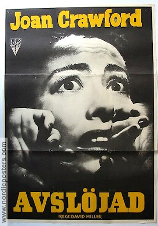 Sudden Fear 1952 poster Joan Crawford