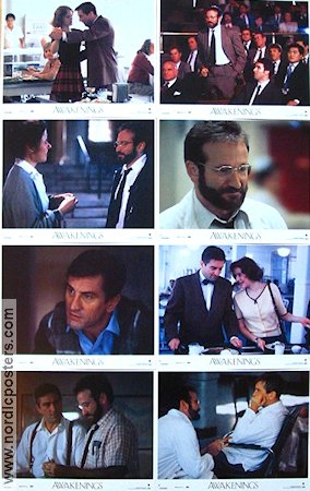 Awakenings 1990 lobby card set Robert De Niro