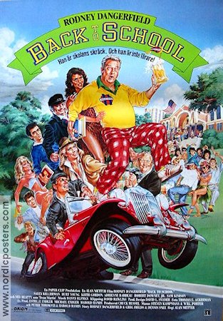 Back to School 1986 poster Rodney Dangerfield