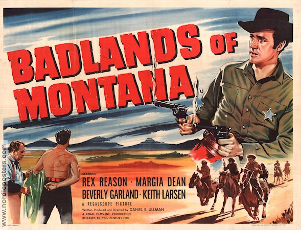 Badlands of Montana 1957 poster Rex Reason