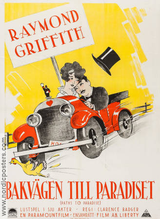 Paths to Paradise 1925 poster Raymond Griffith Clarence Badger