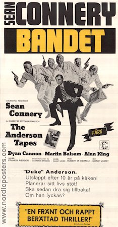 The Anderson Tapes 1971 Sean Connery
