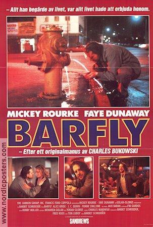 Barfly Movie Poster 1987 Original Nordicposters
