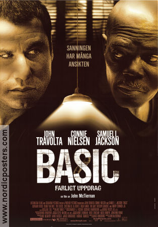 basic poster 2003 john travolta original