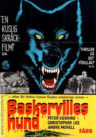 The Hound of Baskervilles 1960 poster