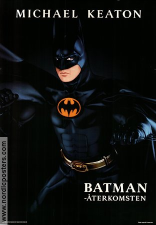 Batman Returns 1992 Movie poster Michael Keaton