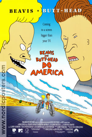 Beavis and Butt-Head do America 1996 Beavis and Butt-Head