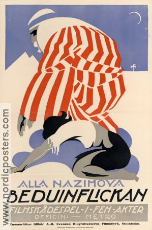 Eye for Eye 1918 poster Alla Nazimova Albert Capellani