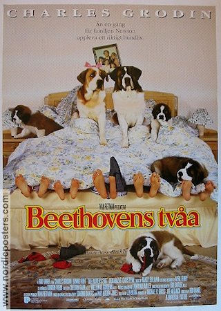 beethovens tv197a beethovens second movie poster 1993
