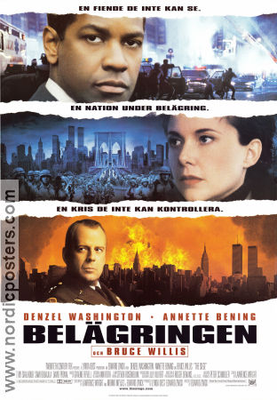 The Siege 1998 Denzel Washington Annette Bening Bruce Willis