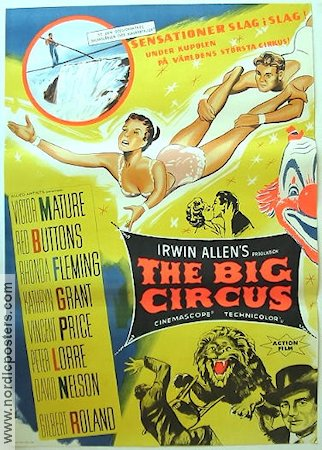 The Big Circus 1959 Victor Mature Peter Lorre