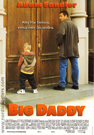 Big Daddy 1999 Movie poster Adam Sandler