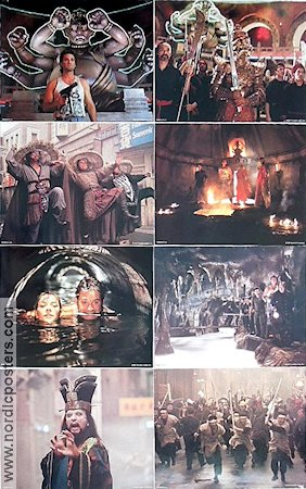 Big Trouble in Little China 1986 Lobby card set Kurt Russell John Carpenter