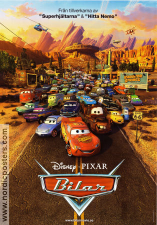 Cars 2006 Movie poster