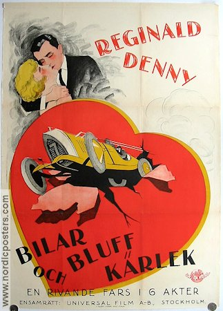 Fast and Furious 1927 Movie poster Reginald Denny