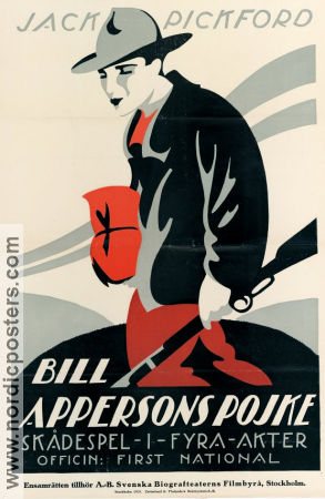 Bill Apperson´s Boy 1919 poster Jack Pickford James Kirkwood