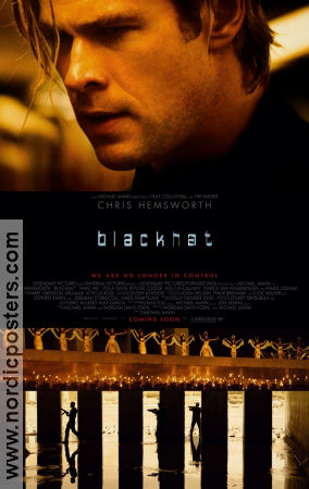 Blackhat 2015 poster Chris Hemsworth Michael Mann